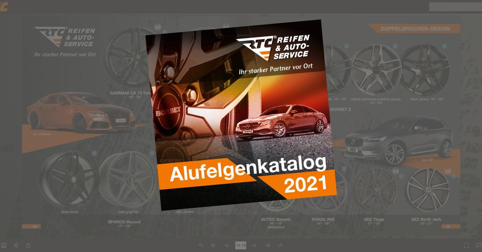 Der neue RTC Felgenkatalog 2021